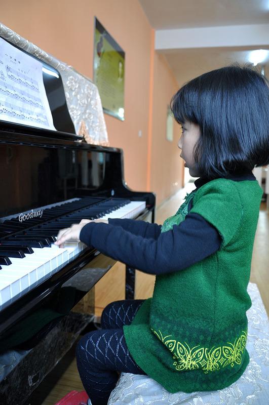 钢琴培训学员